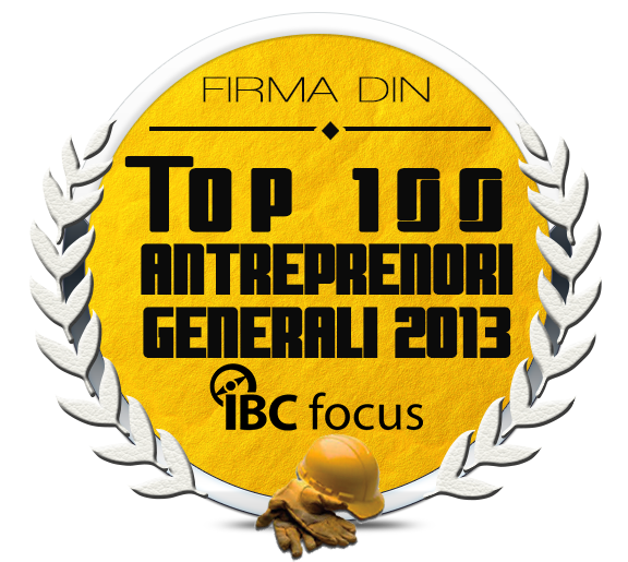 Top 100 antreprenori generali